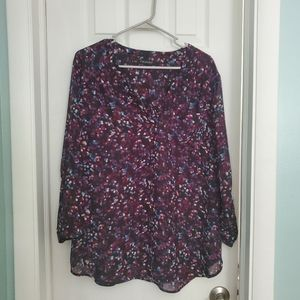 Speckled/Dotted Blouse